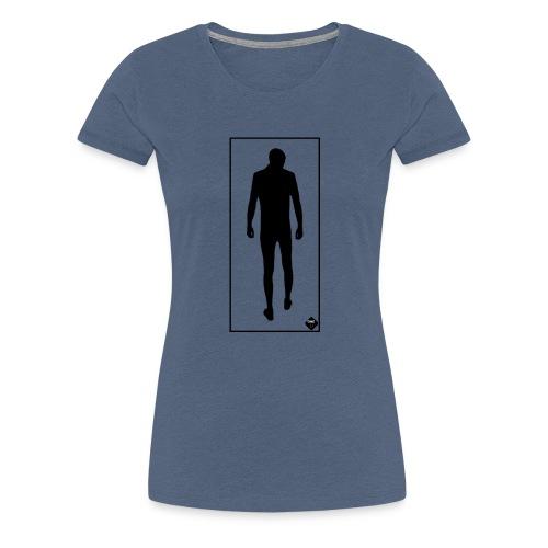 Man In Mirror - Premium-T-shirt dam