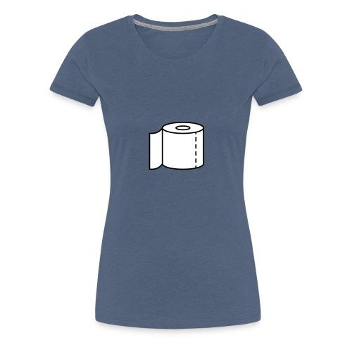 Klopapier für den Notfall - Frauen Premium T-Shirt