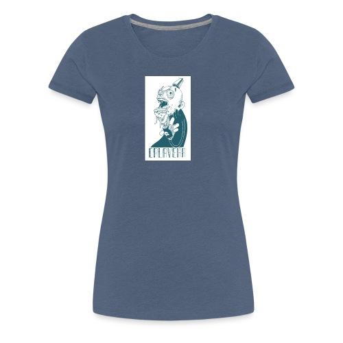 La calavera - Camiseta premium mujer