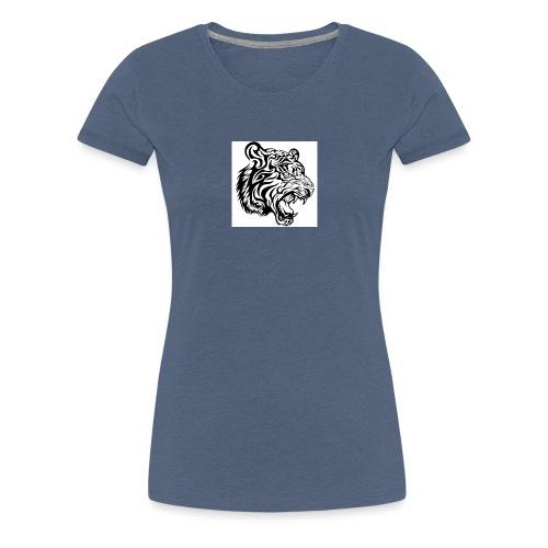 Tiger Fashion T-shirt - Dame premium T-shirt