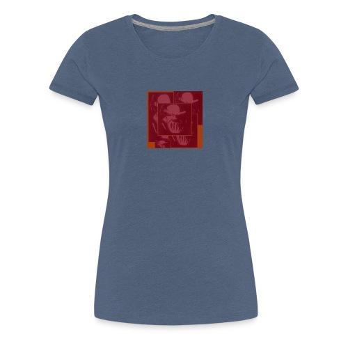 ROSTRO ROCK - Camiseta premium mujer