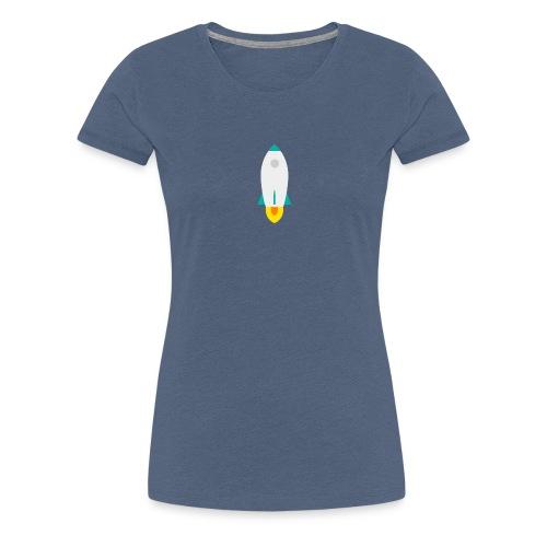 rocket - Frauen Premium T-Shirt