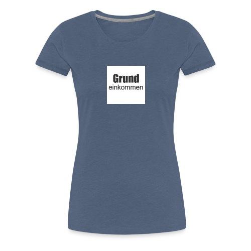 button1 - Frauen Premium T-Shirt