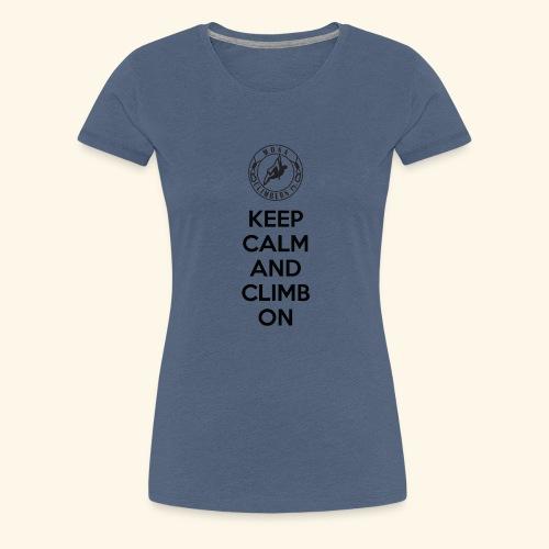 Keep Paita - Naisten premium t-paita