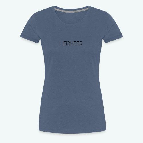 Fighter - Vrouwen Premium T-shirt