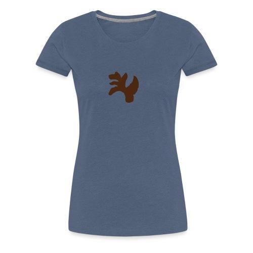 Leichtes Desing für Frauen und Männer - Frauen Premium T-Shirt