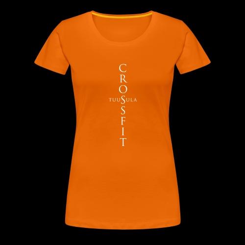 CrossFit Tuusula risti - Naisten premium t-paita