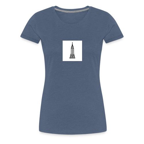 Empire State Building - T-shirt Premium Femme