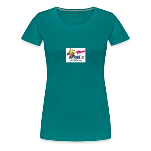panki sticker neu - Frauen Premium T-Shirt