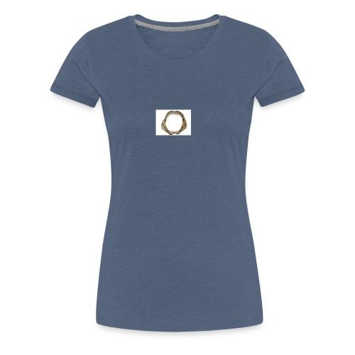 Hai Zähne - Frauen Premium T-Shirt