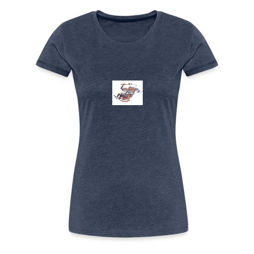 pops d - Frauen Premium T-Shirt