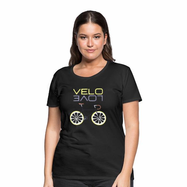 Lemon Bike - Velo Love Shirt Rennradfahrer Shirt