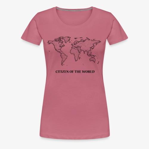 citizenoftheworld - Women's Premium T-Shirt