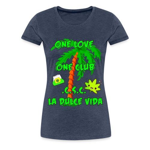 Weed 3 - Frauen Premium T-Shirt