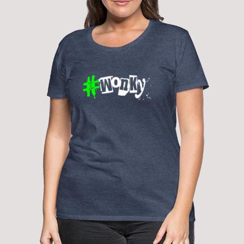 wonky Punk - Women's Premium T-Shirt