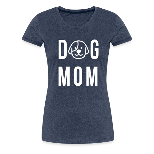 DogMomweiß png - Frauen Premium T-Shirt