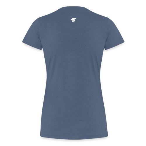 head only white - Frauen Premium T-Shirt