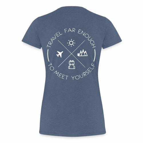 Travel Basic - Frauen Premium T-Shirt