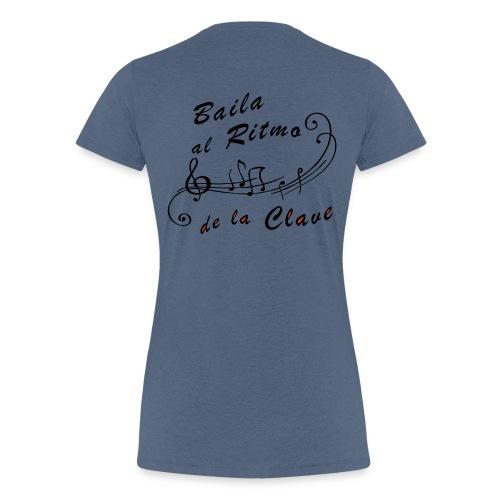 scrittaretro2 colori - Maglietta Premium da donna