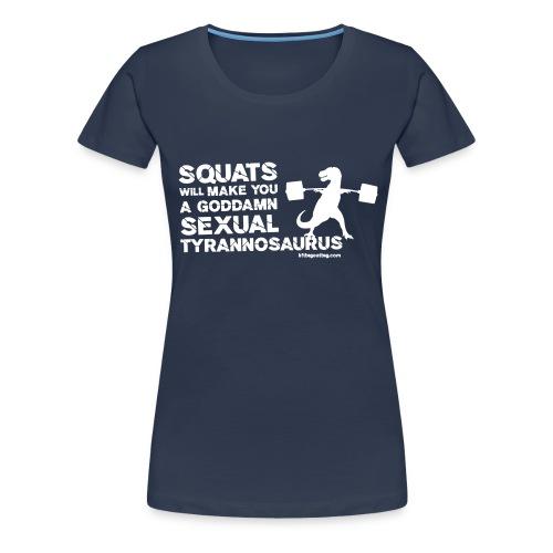 lbeg trex front - Women's Premium T-Shirt