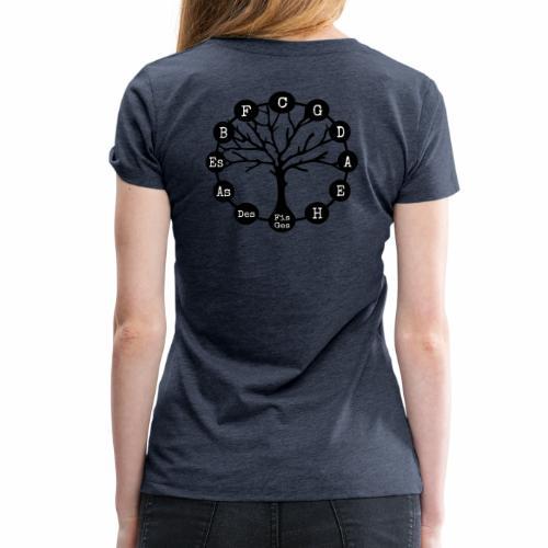 Musik lebt - Frauen Premium T-Shirt