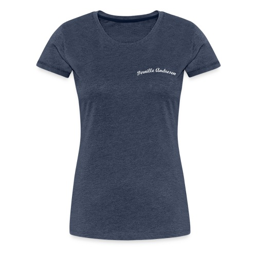 pa tekst png - Dame premium T-shirt