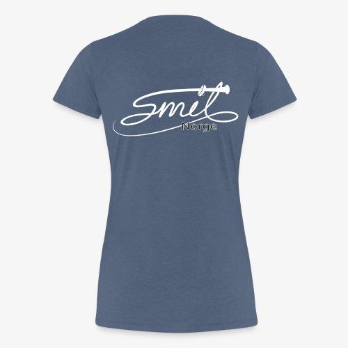 Smil Norge - Premium T-skjorte for kvinner