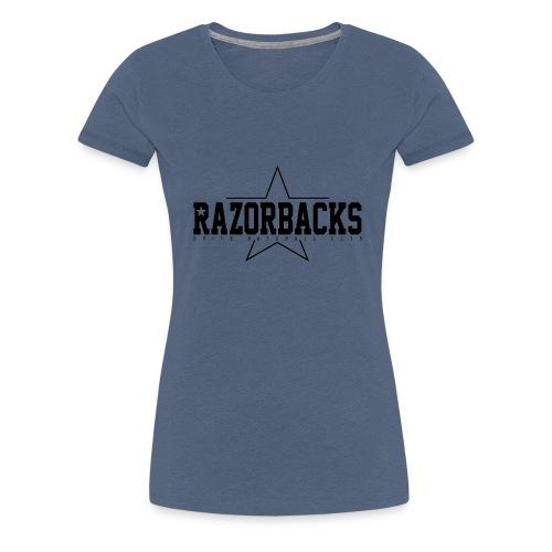 Razorbacks étoile gif - T-shirt Premium Femme