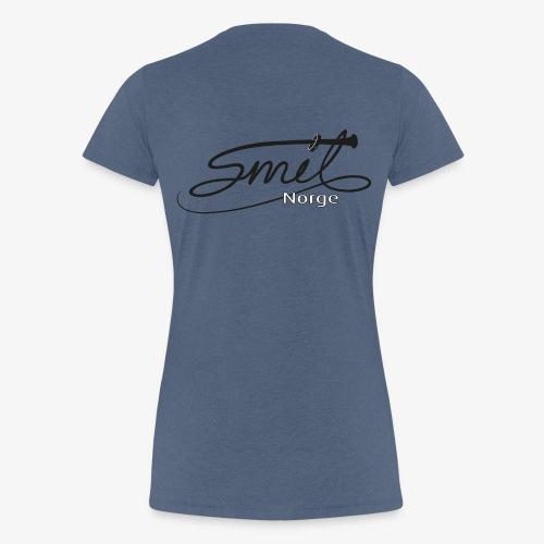 Smil-Norge - Premium T-skjorte for kvinner