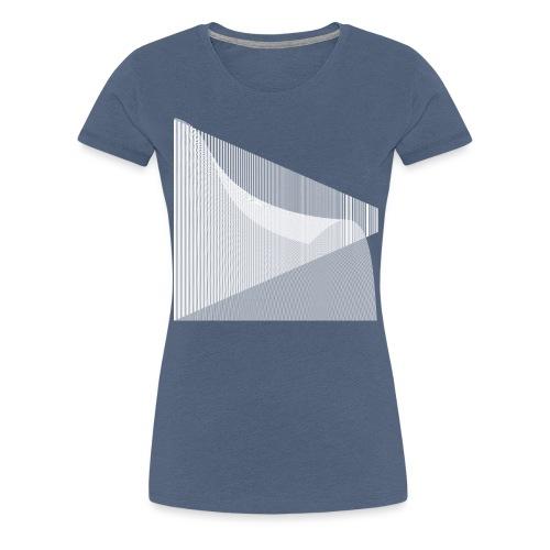 SF Linien V2 - Frauen Premium T-Shirt