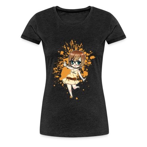 Luuva-Chibi-yellow - Frauen Premium T-Shirt