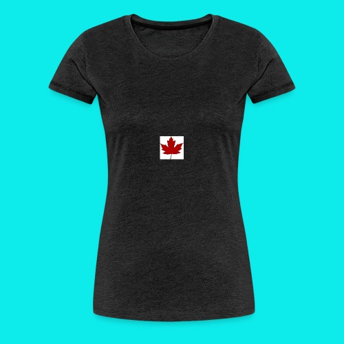 ahornblatt - Frauen Premium T-Shirt
