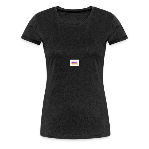 happy birthday design - Premium T-skjorte for kvinner