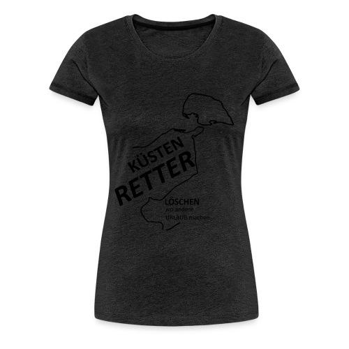 Küstenretter - Streetwear für Feuerwehrleute - Frauen Premium T-Shirt
