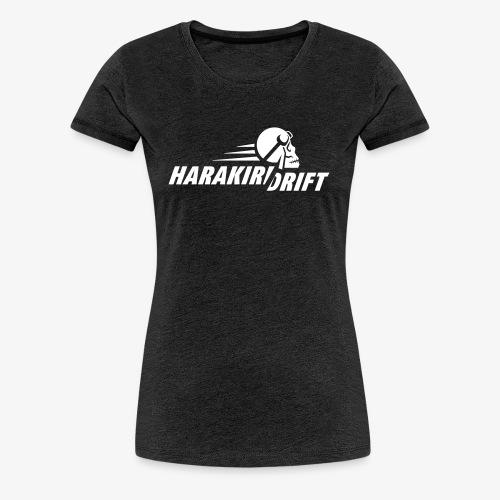 Harakiri Drift Logo Weiss - Frauen Premium T-Shirt