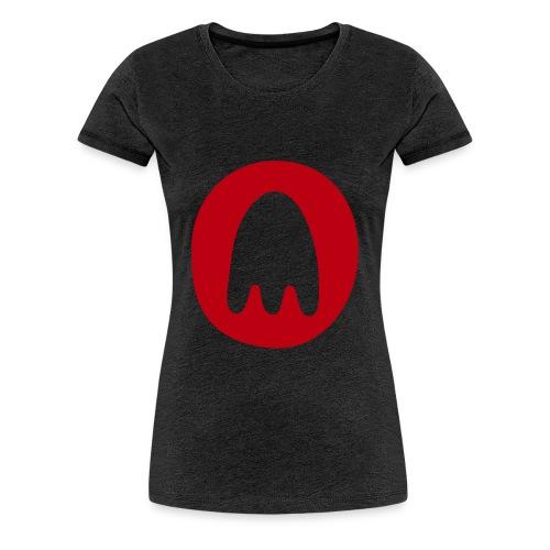 PT Ghost Logo - Women's Premium T-Shirt