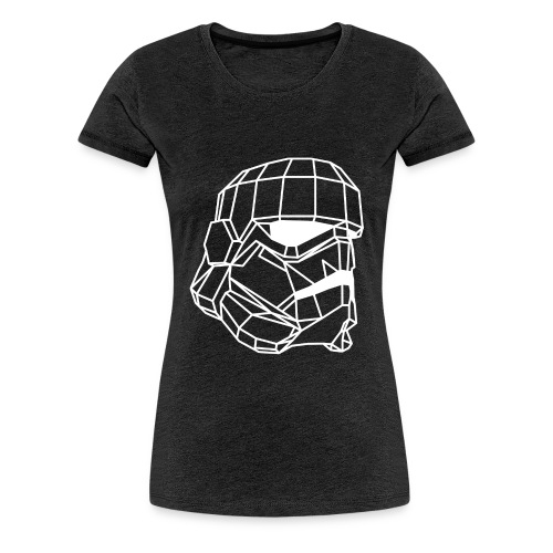 Male Stormtrooper Premium Geometrical sweater - Women's Premium T-Shirt