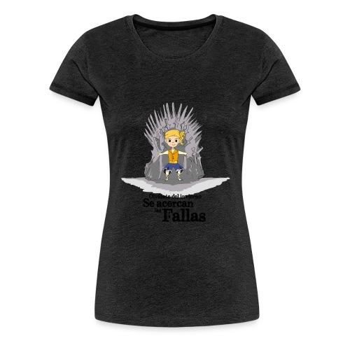 Camiseta hombre: Se acercan las fallas - Camiseta premium mujer