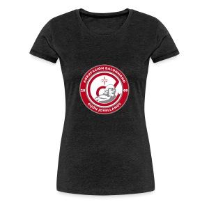 Escudo vertical básico - Camiseta premium mujer