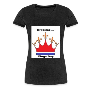 Je taime Kings Day (Je suis...) - Vrouwen Premium T-shirt