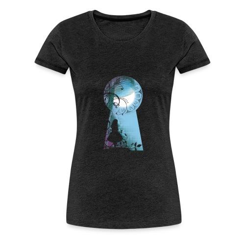 Alice au pays des Merveilles - T-shirt Premium Femme