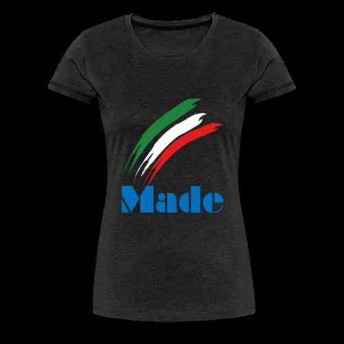 Italy Made - Maglietta Premium da donna