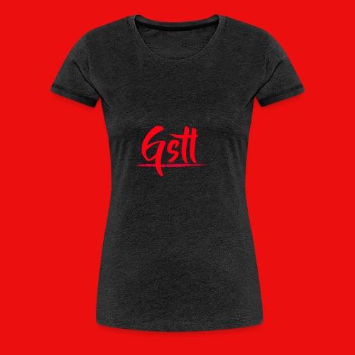 Gstl Red Logo - Women's Premium T-Shirt