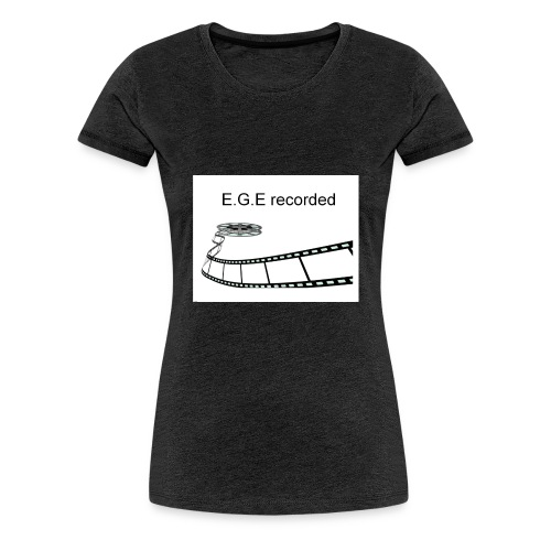 E-G-E_recorded_Prod - Frauen Premium T-Shirt