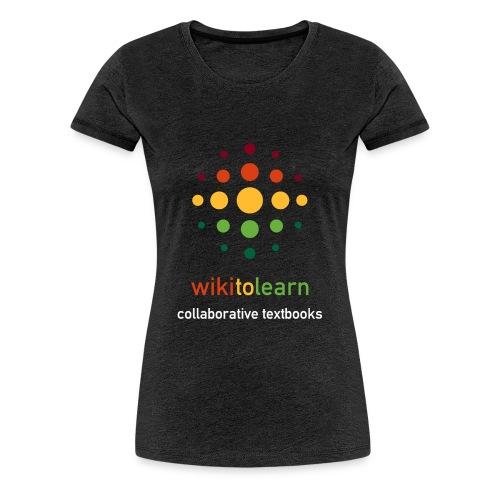 wikitolearn-logo - Maglietta Premium da donna