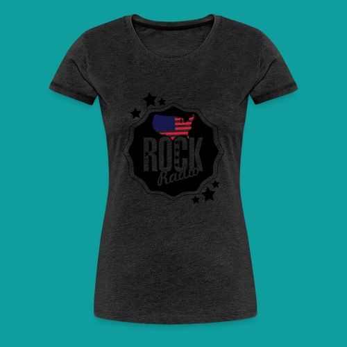 graphisme rock states - T-shirt Premium Femme