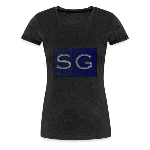 cooltext299 - Dame premium T-shirt