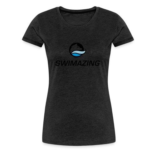 RZ Logo Swimazing 1 - Frauen Premium T-Shirt