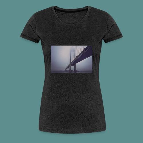 suspension bridge - Vrouwen Premium T-shirt