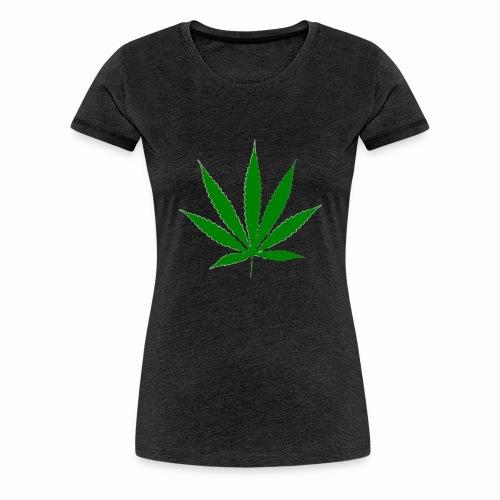 basice weed leaf - Women's Premium T-Shirt